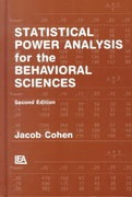 Statistical Power Analysis for the Behavioral Sciences 2nd edition 9780805802832 0805802835