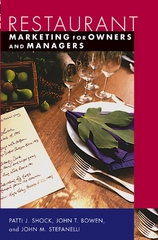 Restaurant Marketing for Owners and Managers 1st edition 9780471226277 0471226270