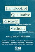 Handbook of Qualitative Research Methods for Psychology and the Social Sciences 1st edition 9781854332042 185433204X