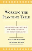 Working the Planning Table 1st Edition 9780787962067 0787962066