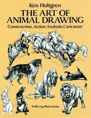 The Art of Animal Drawing 1st Edition 9780486274263 0486274268