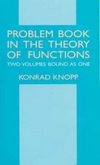 Problem Book in the Theory of Functions 1st edition 9780486414515 0486414515