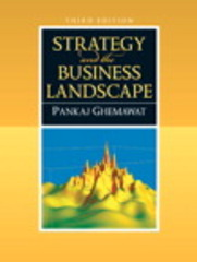 Strategy and the Business Landscape 3rd edition 9780136015550 0136015557