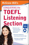 McGraw-Hill's Conquering  The TOEFL Listening Section for Your  iPod 1st edition 9780071604833 0071604839