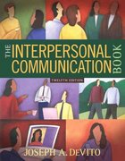 The Interpersonal Communication Book 12th edition 9780205625703 0205625703