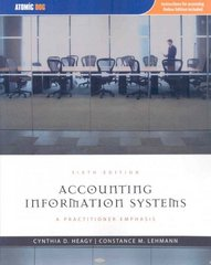 Accounting Information Systems 6th edition 9781426629099 1426629095