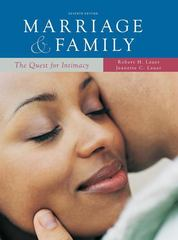 Marriage and Family: The Quest for Intimacy 7th edition 9780073404288 0073404284