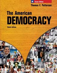 The American Democracy, Texas Edition 9th edition 9780077237929 0077237927