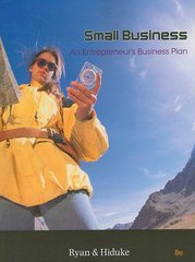 Small Business: An Entrepreneur's Business Plan 8th edition 9780324591026 0324591020