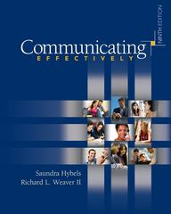 Communicating Effectively 9th edition 9780073385099 0073385093