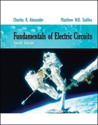 Fundamentals of Electric Circuits 4th edition 9780077263195 0077263197