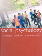 Kassin Social Psychology Plus Readings Seventh Edition 7th edition 9780618989966 061898996X