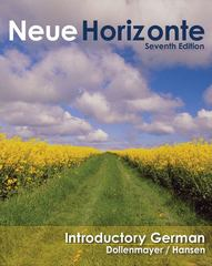 Neue Horizonte: Introductory German (Available Titles Ilrn: Heinle Learning Center) 7th edition 9780618954797 0618954791