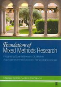 Foundations of Mixed Methods Research 1st Edition 9780761930129 0761930124