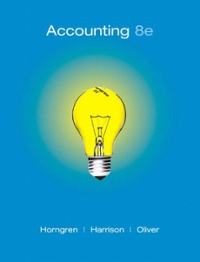 Accounting, Chapters 1-23, Complete Book 8th edition 9780136072973 0136072976