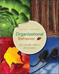 Organizational Behavior 4th edition 9780073381411 0073381411