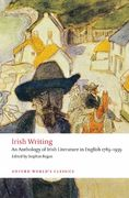 Irish Writing 1st Edition 9780199549825 0199549826