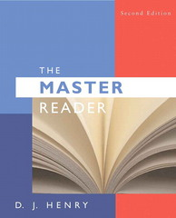 The Master Reader 2nd edition 9780205617548 0205617549