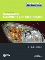 Automotive Electricity and Electronics 2nd edition 9780135029503 0135029503