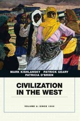 Civilization in the West, Penguin Academic Edition, Volume 2 1st edition 9780205664740 0205664741