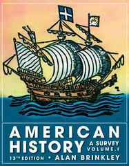 American History: A Survey, Volume 1 13th edition 9780077238551 0077238559
