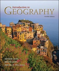 Introduction to Geography 12th Edition 9780073522821 0073522821