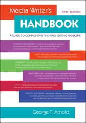 Media Writer's Handbook: A Guide to Common Writing and Editing Problems 5th Edition 9780073378855 0073378852