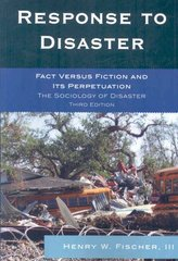 Response to Disaster 3rd Edition 9780761841173 0761841172