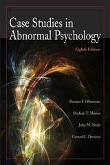 Case Studies in Abnormal Psychology 8th edition 9780470408599 0470408596