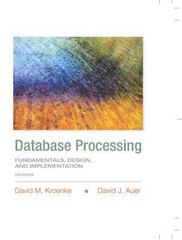Database Processing 14th Edition 9780133876703 0133876705