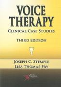 Voice Therapy 3rd edition 9781597563444 1597563447