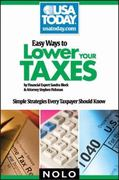 Easy Ways to Lower Your Taxes 1st edition 9781413309133 1413309135