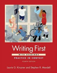 Writing First with Readings 4th edition 9780312487584 0312487584