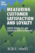 Measuring Customer Satisfaction and Loyalty 3rd Edition 9780873897433 0873897439