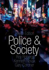 Police & Society 4th edition 9780195370355 019537035X