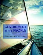 Government by the People, Brief Edition 8th edition 9780205666379 020566637X