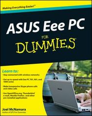 ASUS Eee PC For Dummies 1st edition 9780470411544 0470411546