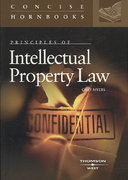 Principles of Intellectual Property Law 1st edition 9780314181329 0314181326