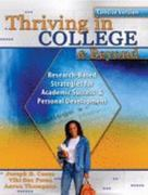 Thriving in College and Beyond 0 9780757551116 0757551114