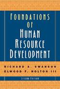Foundations of Human Resource Development 2nd edition 9781576754962 1576754960
