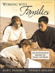 Working with Families 5th Edition 9780205673926 0205673929