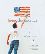 Living Democracy, California Edition 2nd edition 9780136027973 0136027970