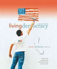 Living Democracy, Brief California Edition 2nd edition 9780136027515 0136027512