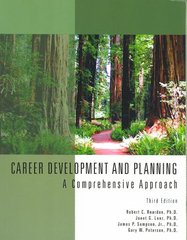 Career Development & Planning: A Comprehensive Approach 3rd edition 9781426631351 1426631359