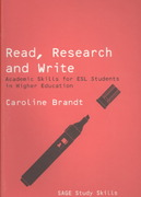 Read, Research and Write 0 9781412947374 1412947375