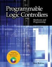 Programmable Logic Controllers Hardware and Programming 2nd edition 9781605250069 1605250066