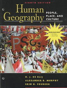 (WCS)Human Geography 8th edition 9780470176269 0470176261