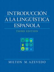 Introduccion a la linguistica espanola 3rd Edition 9780205647040 0205647049