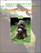 Annual Editions: Physical Anthropology 09/10 18th edition 9780073397818 0073397814