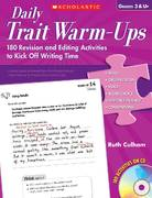 Daily Trait Warm-Ups 0 9780545095990 0545095999